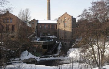 Industriområde langs Akerselva